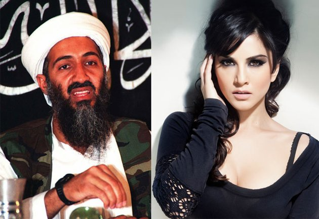 Sunny-leone and bin laden
