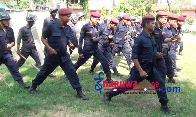nepal police bhid niyantran prahari