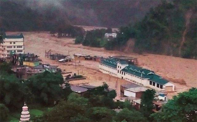 india flood