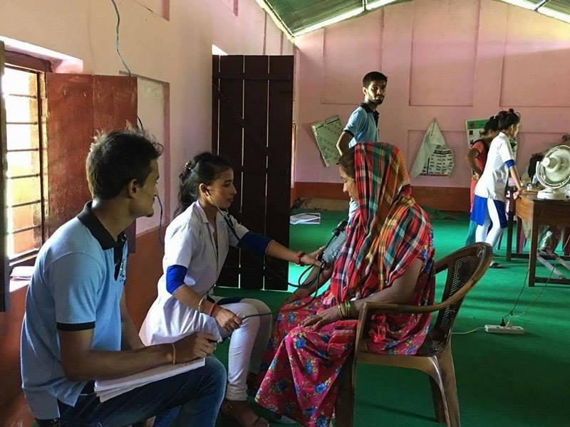 leo club health camp itahari