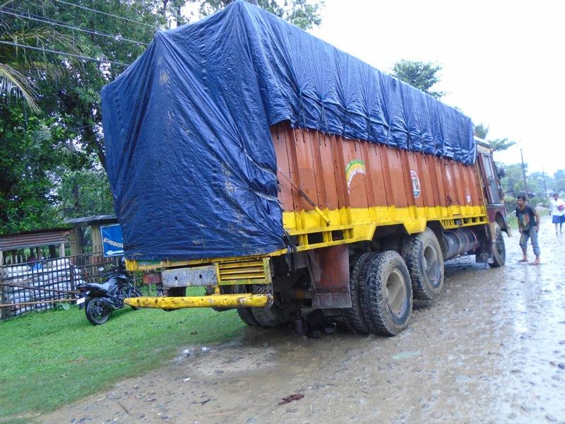 bhansar chali truck baramad