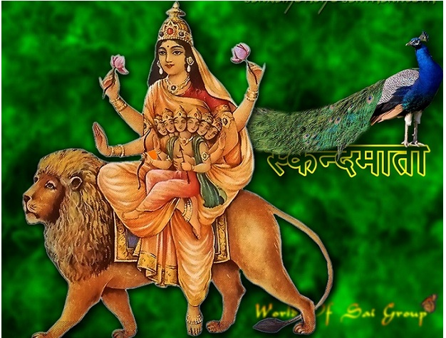 skand-mata bhagawati god